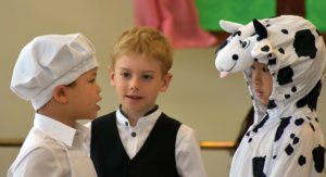 Prep Pupils Act in Jack and the Beanstalk