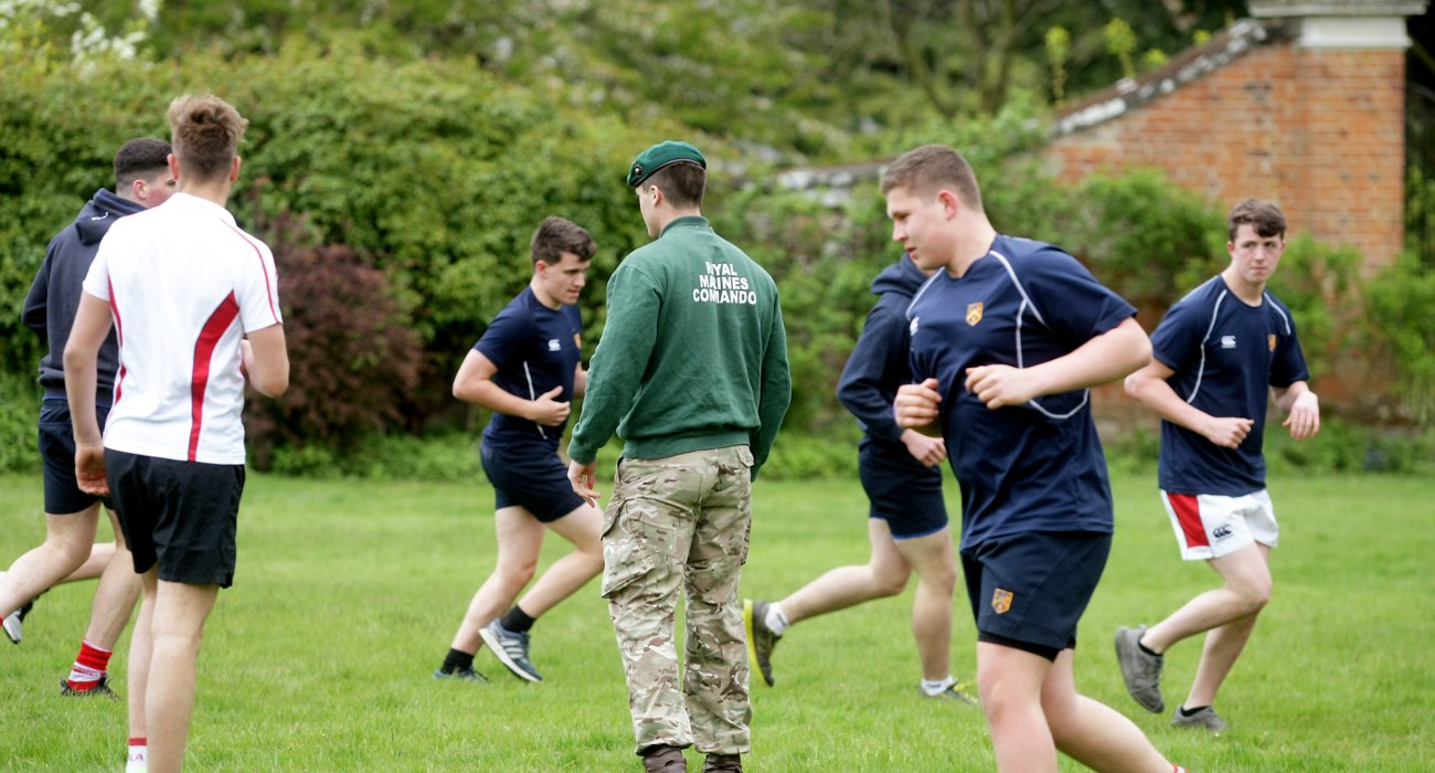 SIXTH Royal Marines Visit