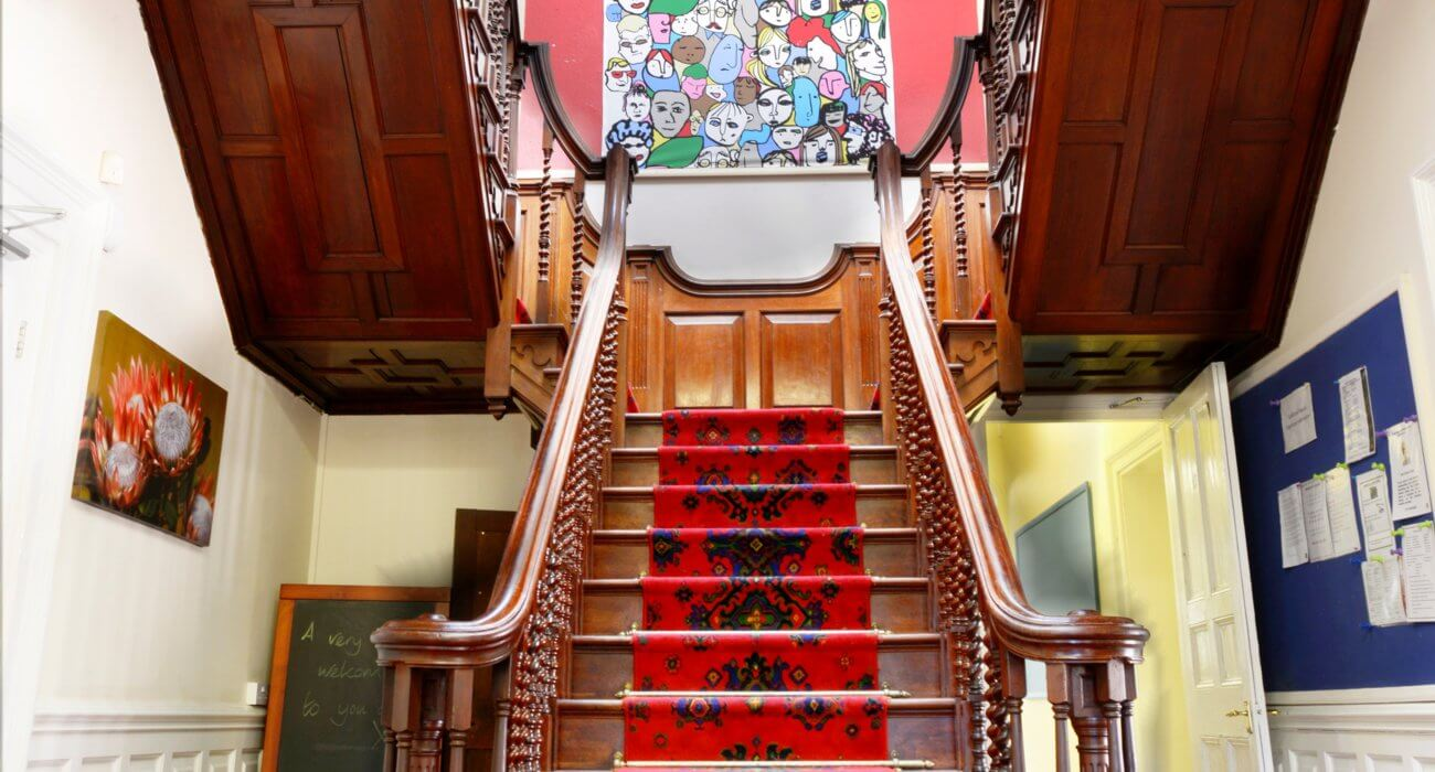 Boarding House Staircase