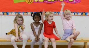 Nursery Ballet Girls