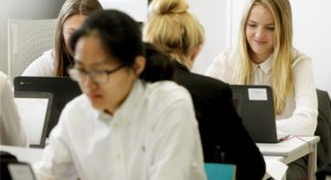 Sixth Formers at Work in Sixth Form Centre