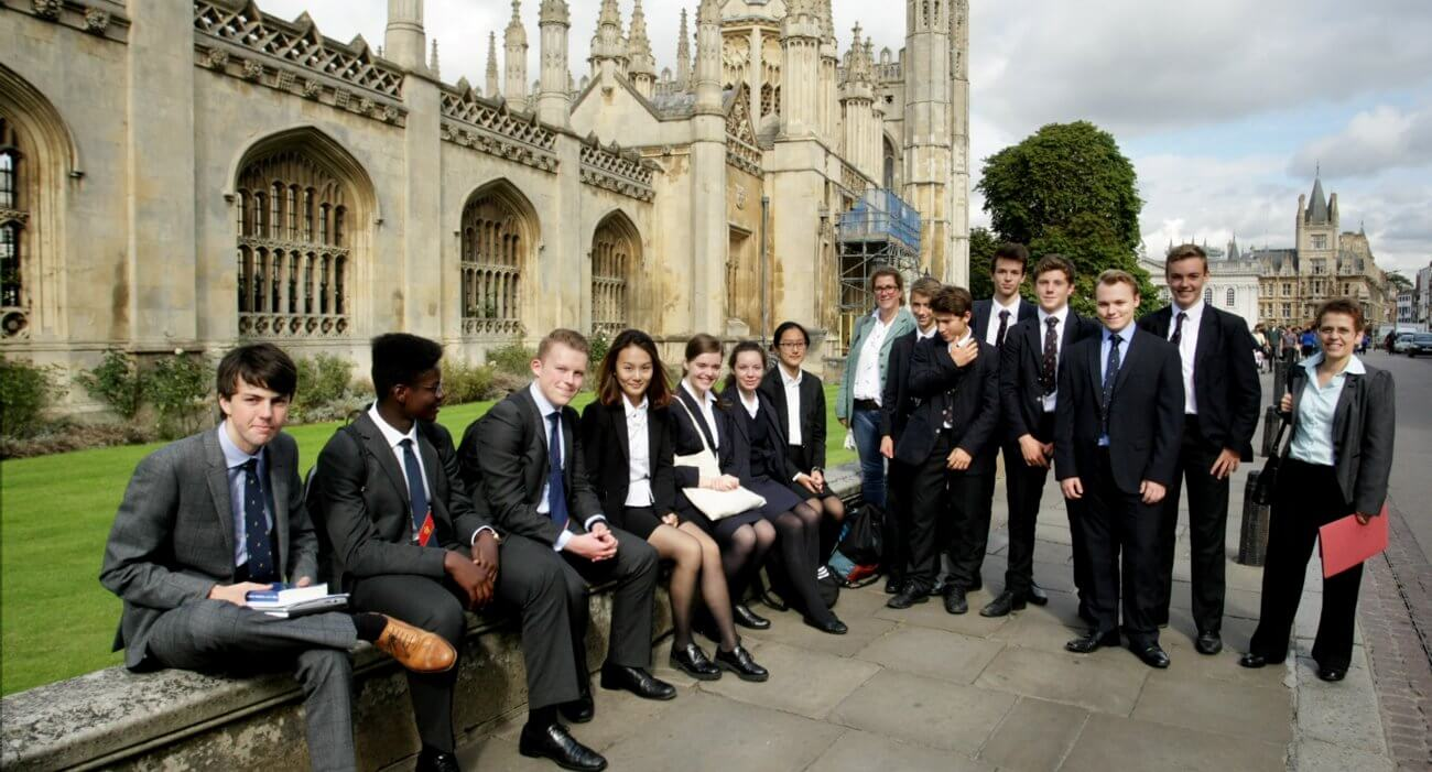 Boarders Visit Cambridge