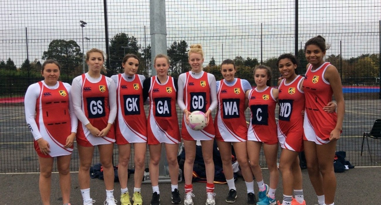 Sixth Form Netball Team